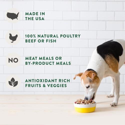 Freshpet Grain Free Chicken Recipe Wet Dog Food Perspective: left