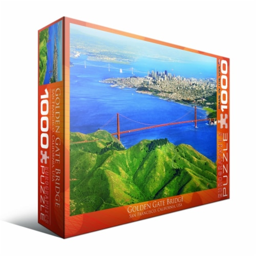 Eurographics Inc Golden Gate Bridge San Francisco California USA Puzzle Perspective: left