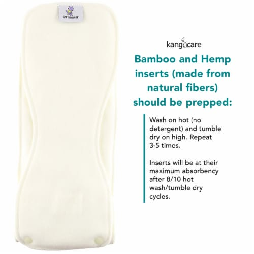 Kanga Care Rumparooz Rayon from Bamboo 6R Soaker, 10 Count Perspective: left