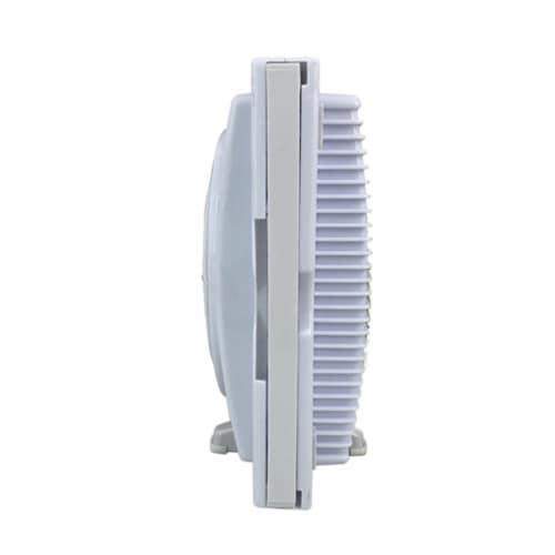 """Optimus F-5280 7"""" Twin Window Fan Perspective: left"""