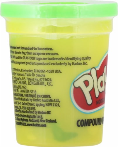 Play-Doh Single Can - Green Perspective: left