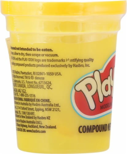 Play-Doh Single Can - Yellow Perspective: left