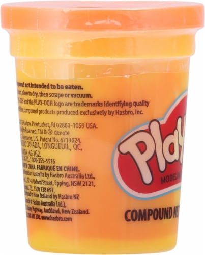 Play-Doh Single Can - Neon Orange Perspective: left