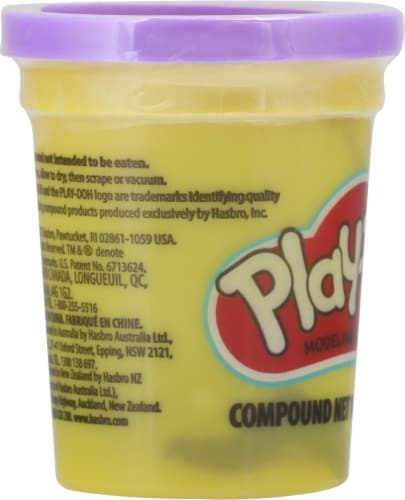 Play-Doh Single Can - Purple Perspective: left