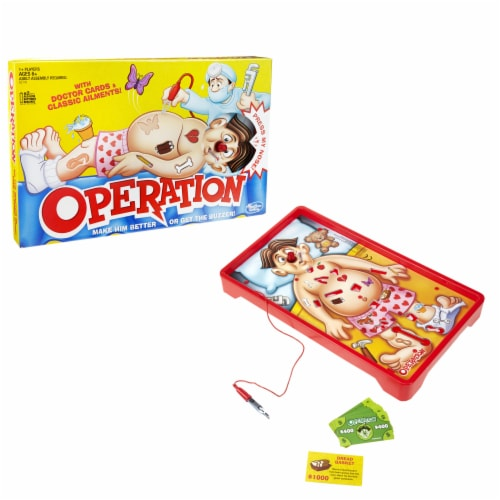Operation Board Game Perspective: left