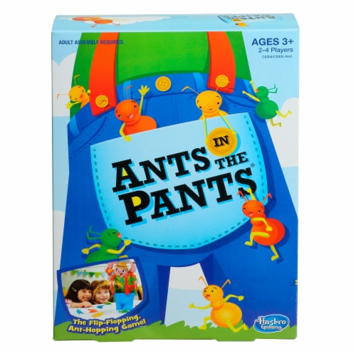 Hasbro Ants in the Pants Game Perspective: left