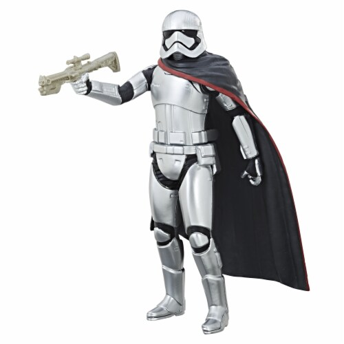 Hasbro Star Wars: The Force Awakens Captain Phasma Action Figure Perspective: left