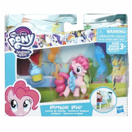 My Little Pony Pinkie Loves To Party Playset Perspective: left