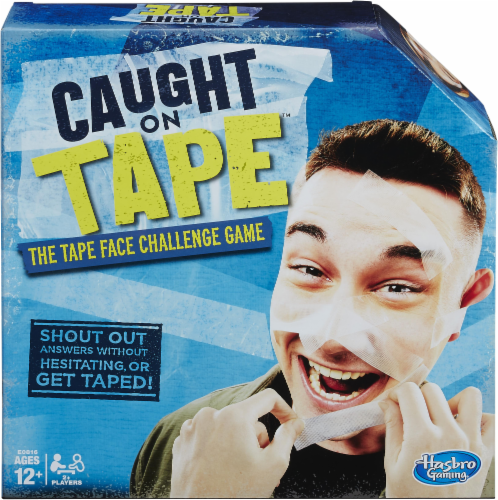 Hasbro Caught On Tape Game Perspective: left