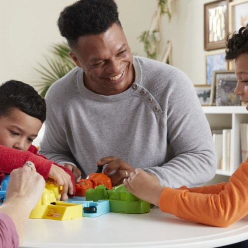 Hasbro Hungry Hungry Hippos Game Perspective: left
