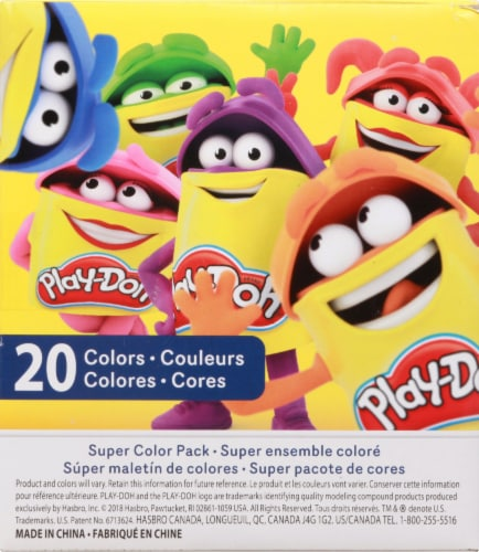 Play-Doh Super Color Pack Perspective: left