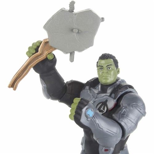Marvel Avengers Team Suit Hulk Figure Perspective: left