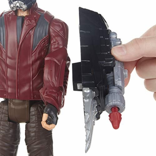Marvel Avengers Titan Hero Series Star-Lord Figure Perspective: left