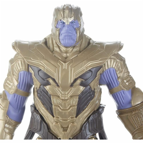 Marvel Avengers Endgame Thanos Action Figure Toy Perspective: left