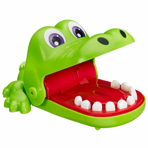 Hasbro Crocodile Dentist Game Perspective: left