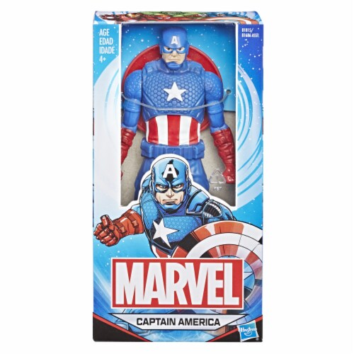 Hasbro Marvel Captain America Figure Perspective: left