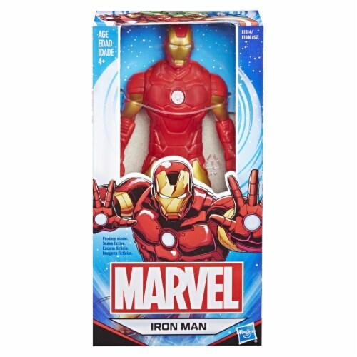 Hasbro Marvel Basic Iron Man Figure Perspective: left