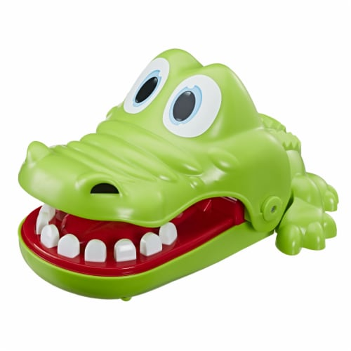 Hasbro Gaming Crocodile Dentist Game Perspective: left