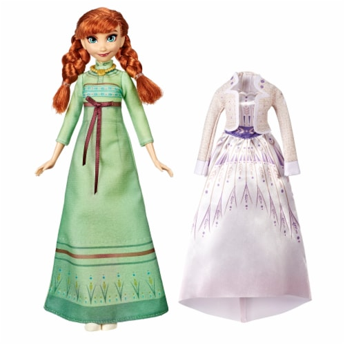 Hasbro Disney Frozen 2 Anna Fashion Doll Perspective: left