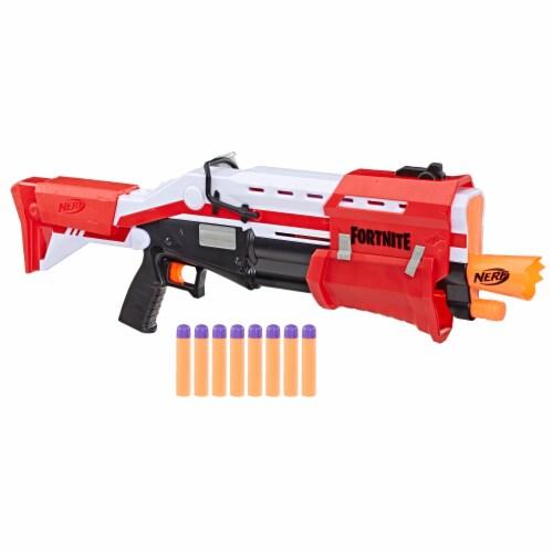 Nerf Fortnite Pump Action Dart Blaster Perspective: left