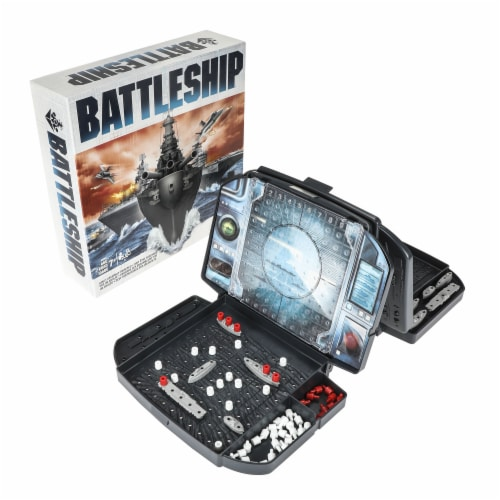 Hasbro Gaming Battleship Strategy Game Perspective: left