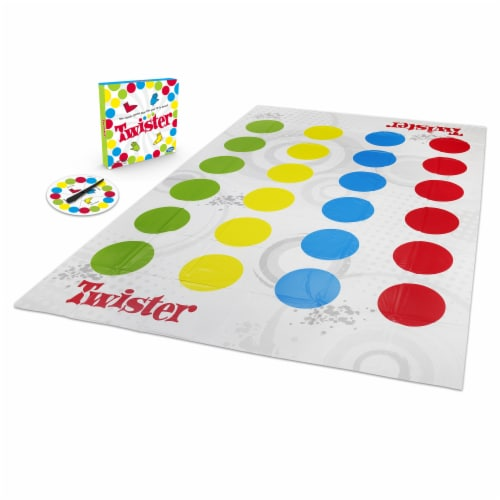 Hasbro Gaming Twister Kids Game Perspective: left