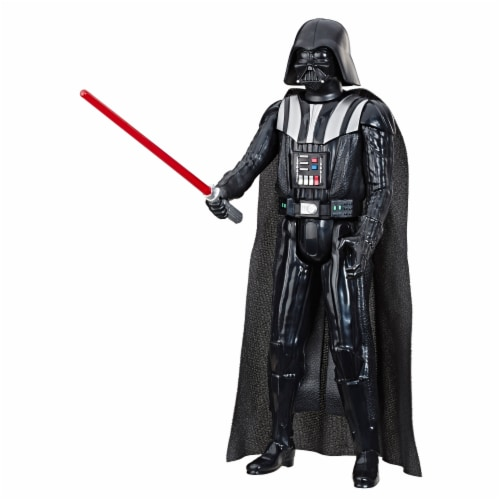Hasbro Star Wars Hero Series Darth Vader Action Figure Perspective: left