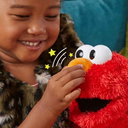 Playskool Sesame Street Rock and Rhyme Elmo Perspective: left