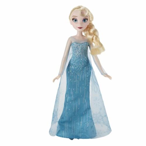 Disney Frozen Classic Fashion Doll Elsa Perspective: left