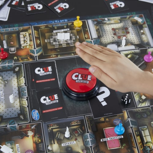 Hasbro Gaming Clue Liars Edition Board Game Perspective: left