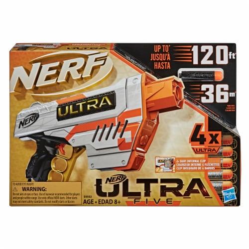 Nerf Ultra Five Blaster Perspective: left