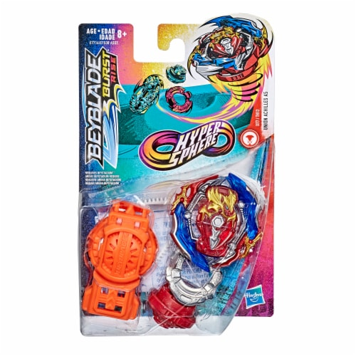 Hasbro Beyblade Burst Rise Hypersphere Starter Pack Union Achilles A5 Perspective: left