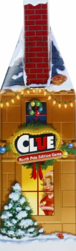Hasbro North Pole Edition Clue Game Perspective: left