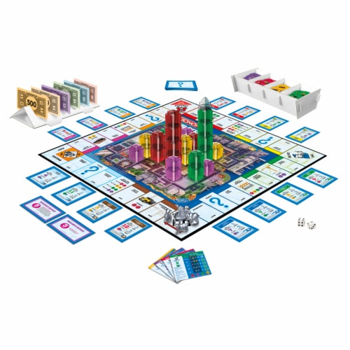 Hasbro Gaming Monopoly Builder Game Perspective: left