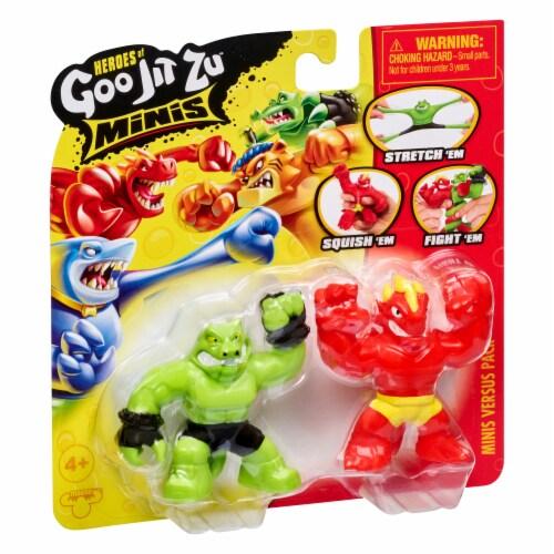 Moose Toys Heroes of Goo Jit Zu Minis Versus Pack - Assorted Perspective: left