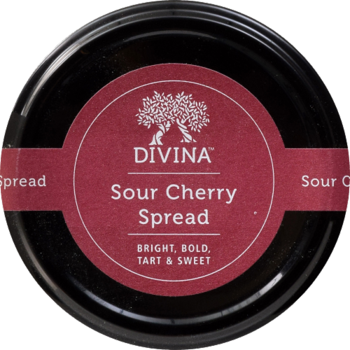 Divina Sour Cherry Spread Perspective: left