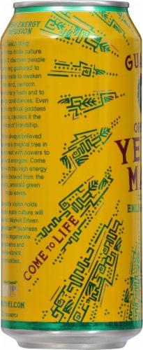 Guayaki Yerba Mate Organic Enlighten Mint Energy Drink Perspective: left