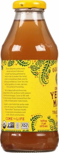 Guayaki Yerba Mate Traditional Mate Tea Perspective: left