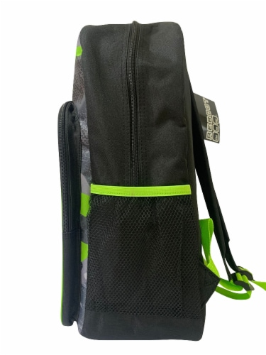 Cudlie Backpack - Green Camo Perspective: left