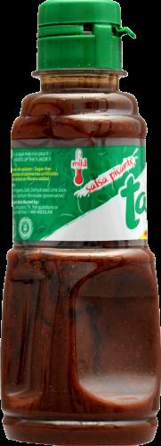 Tajin Mild Snack Sauce Perspective: left