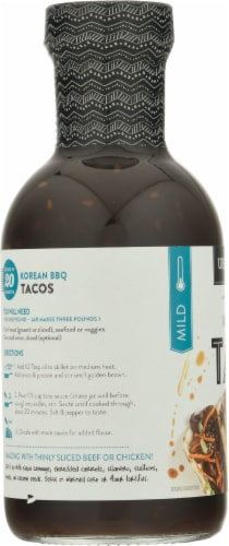 Urban Accents® Korean BBQ Taco Simmer Sauce Perspective: left