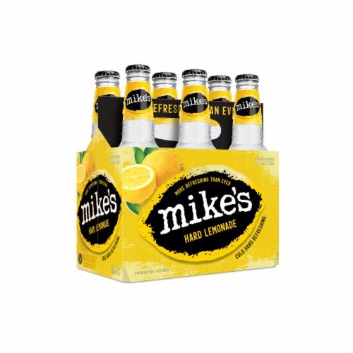 Mike's Hard Lemonade Perspective: left