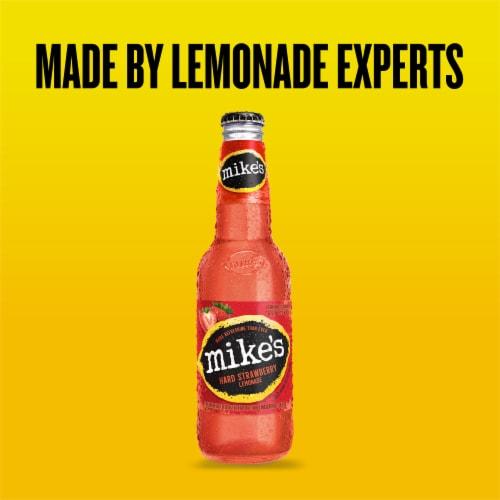 Mike's Hard Strawberry Lemonade Perspective: left
