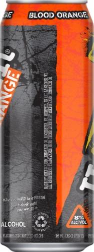 Mike's Harder Blood Orange Premium Malt Beverage Perspective: left