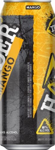 Mike's Harder Mango Premium Malt Beverage Perspective: left