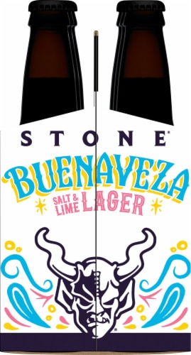 Stone Brewing Co. Buenaveza Salt & Lime Lager Perspective: left