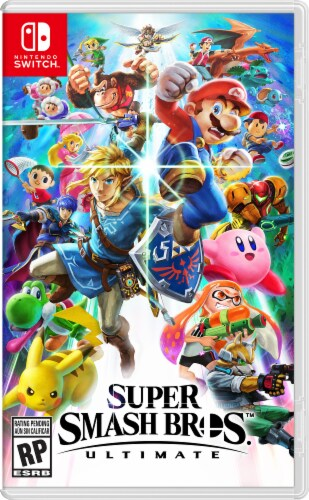 Nintendo Switch Super Smash Bros. Ultimate Bundle Perspective: left