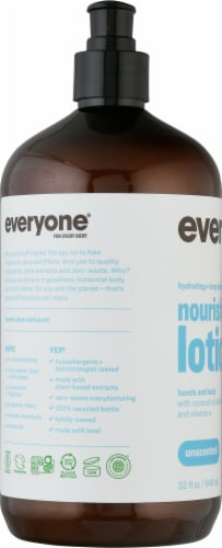 EO Unscented Lotion Perspective: left