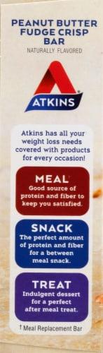 Atkins® Day Break Peanut Butter Fudge Crisp Bars Perspective: left