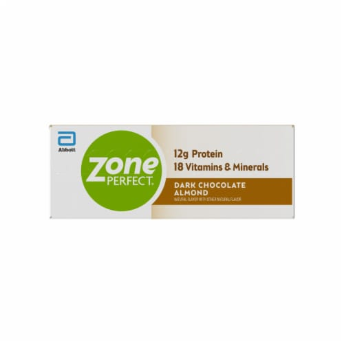 ZonePerfect Dark Chocolate Almond Nutrition Bars Perspective: left
